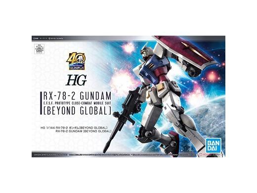 Model Kit RX 78-2 Gundam Beyond Global HG