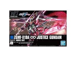 Model Kit Infinite Justice Gundam ZGMF-X19A HG