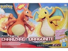 Model Kit Pokémon Charizard & Dragonite