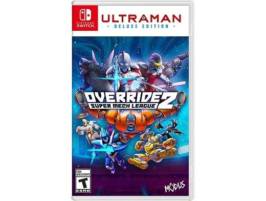 Override 2: Ultraman Deluxe Edition NSW