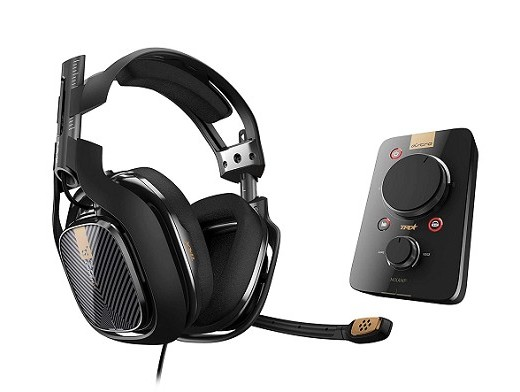 ASTRO A40 TR Headset + MixAmp Pro TR Grey PS4