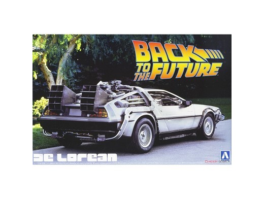 Model Kit De Lorean - Back to the Future I