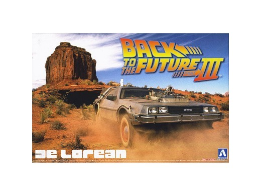 Model Kit De Lorean - Back to the Future III