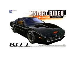 Model Kit K.I.T.T. - Knight Rider (Season 1)