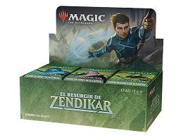 Display sobres MTG El Resurgir de Zendikar
