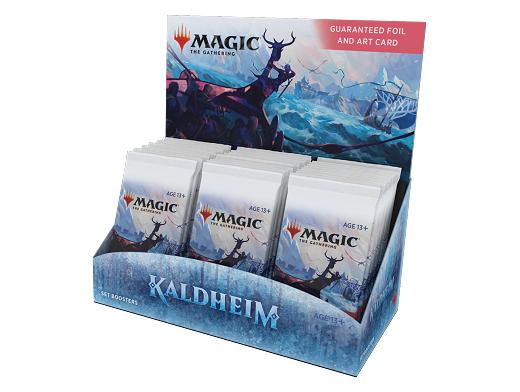 Display sobres MTG Set Kaldheim (inglés)