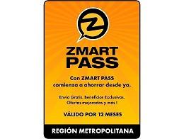 ZMART PASS: Región Metropolitana