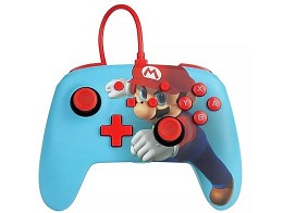 Control con Cable PowerA Mario Punch NSW