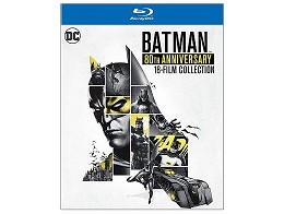 Batman 80th Anniversary Collection Blu-Ray