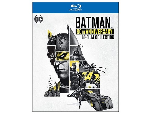 Batman 80th Anniversary Collection Blu-Ray