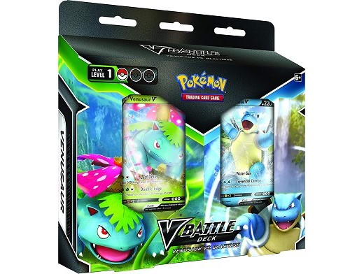 Pokémon TCG: V Battle Deck Venusaur vs Blastoise