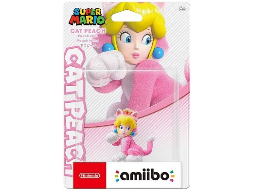 Nintendo amiibo: Cat Peach Super Mario Series
