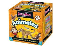 BrainBox Animales - Juego de mesa