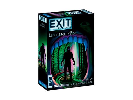 Exit 11 La Feria Terrorífica - Juego de Mesa