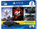 PlayStation 4 1TB Mega 16 R6S + HZD + GT Sport