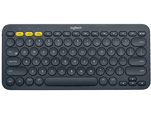 Teclado Logitech K380 Bluetooth Multi-Device Grey