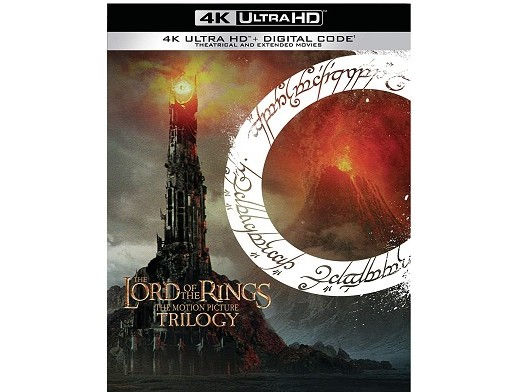 The Lord of the Rings: Trilogy 4K Blu ray
