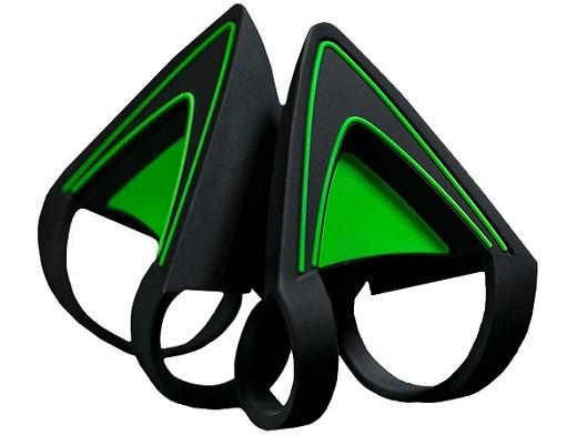 Kitty Ears Green para Headset Razer Kraken