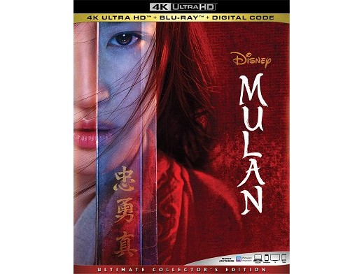 Mulan 4K Blu-Ray
