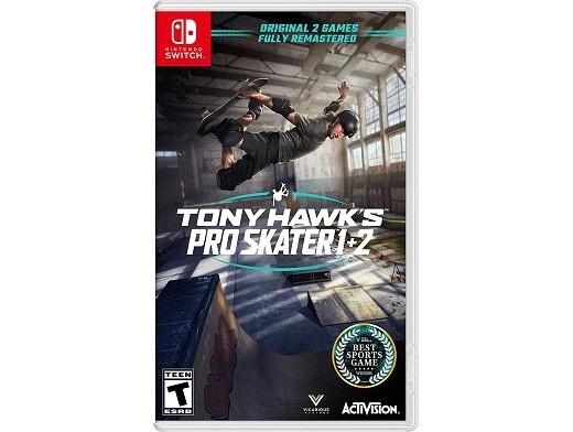 Tony Hawk's Pro Skater 1 + 2 NSW