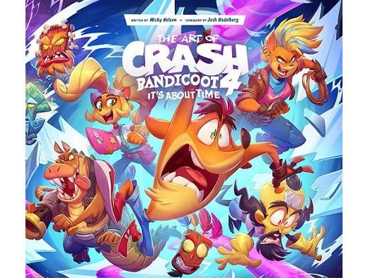 Art of Crash Bandicoot 4 (ING) Libro