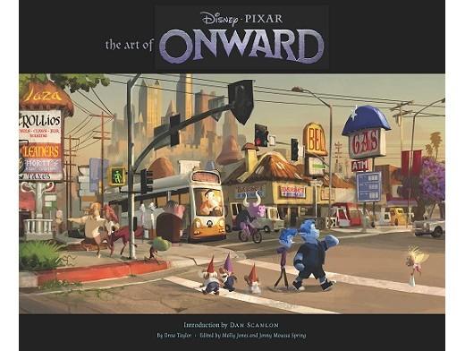 The Art of Onward (ING) Libro