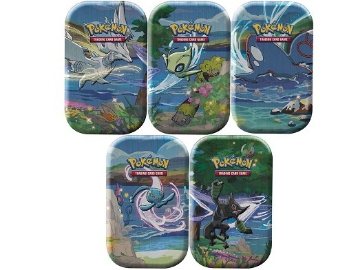 Pokémon TCG Destinos Brillantes Mini Tin - ESPAÑOL