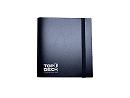 Carpeta 12 bolsillos Top Deck para cartas - Negra