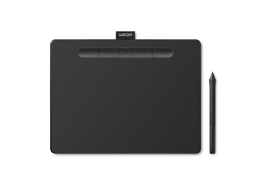 Intuos Creative Pen Tablet Wacom Bluetooth M Black