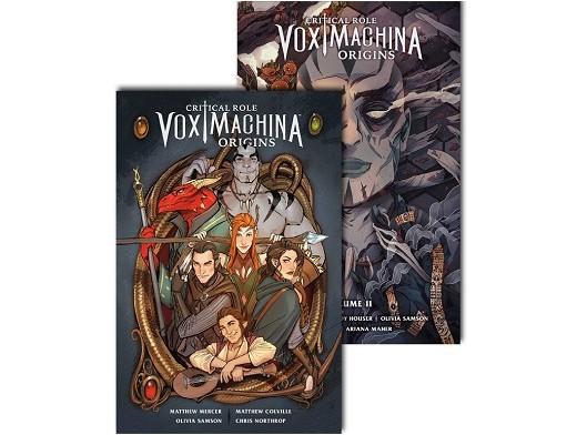 Critical Role Vox Machina Pack v1&2 (ING/TP) Comic