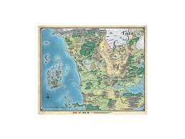 Dungeons & Dragons: Mapa de Faer?n