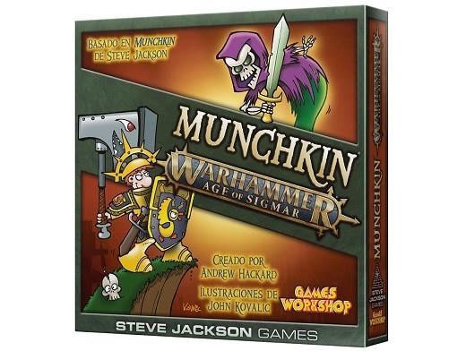 Munchkin: Age of Sigmar (en español) Juego de mesa
