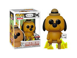 Figura Pop Icons: This is fine dog