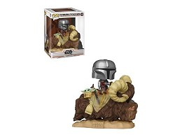 Figura Pop: The Mandalorian & The Child on Bantha