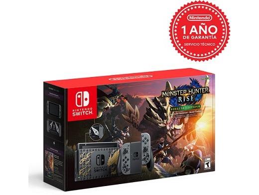 Nintendo Switch – Monster Hunter Rise Edition
