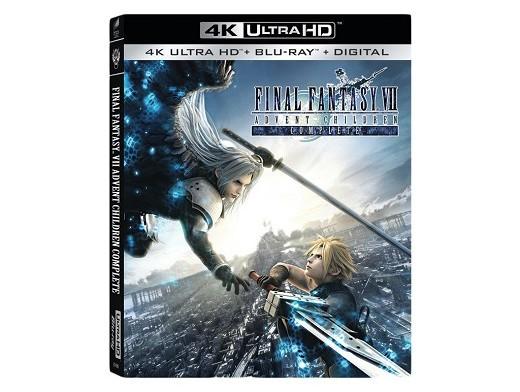 Final Fantasy VII: Advent Children 4K Blu-Ray