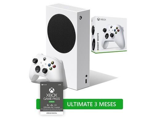 Combo Xbox Series S +Control White +3 mes GamePass