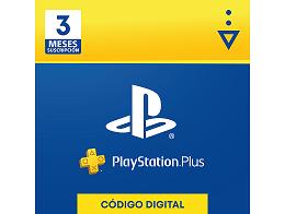 PSN PlayStation Plus 3 meses Chile (DIGITAL)