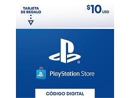 Tarjeta PSN PlayStation Chile USD$10 (DIGITAL)