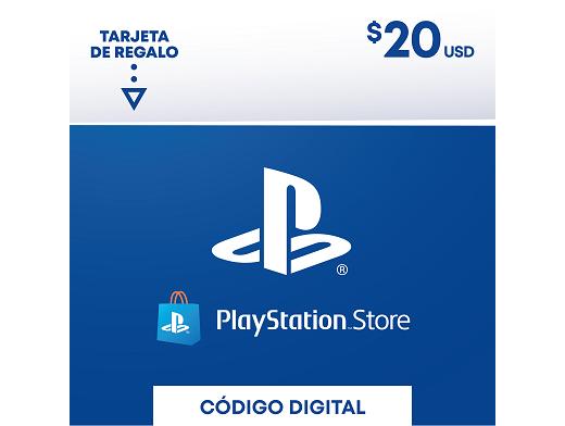 Tarjeta PSN PlayStation Chile USD$20 (DIGITAL)