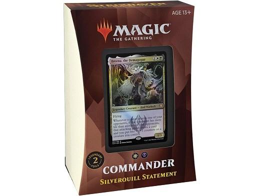 Mazo MTG commander Strixhaven Silverquill Statemen