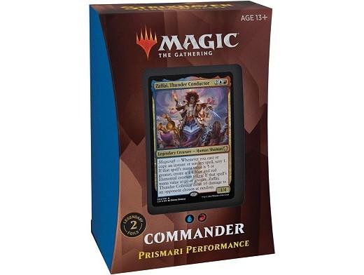 Mazo MTG commander Strixhaven Prismari Performance