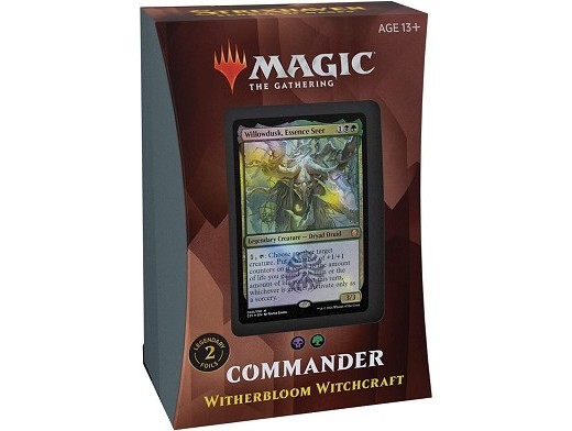 Mazo MTG commander Strixhaven Witherbloom Witchcra
