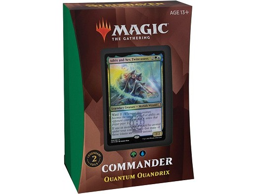 Mazo MTG commander Strixhaven Quantum Quandrix