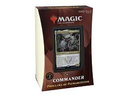 Mazo MTG commander Strixhaven Proclama Plumarg?ntu