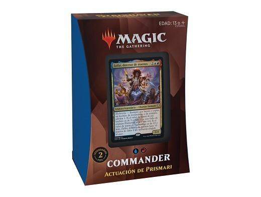 Mazo MTG commander Strixhaven Actuación Prismari