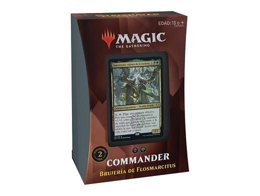 Mazo MTG commander Strixhaven Brujería Flosmarcitu