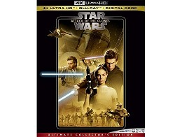Star Wars: Attack of the Clones 4K Blu-ray