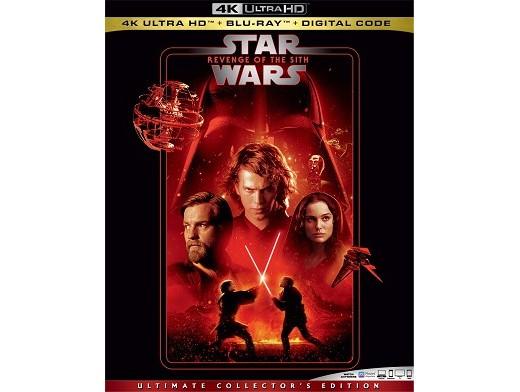 Star Wars: Revenge of the Sith 4K Blu-ray
