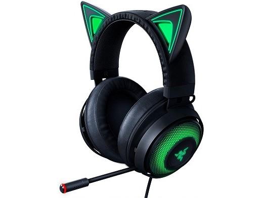Headset Razer Kraken Kitty Chroma Black USB PC
